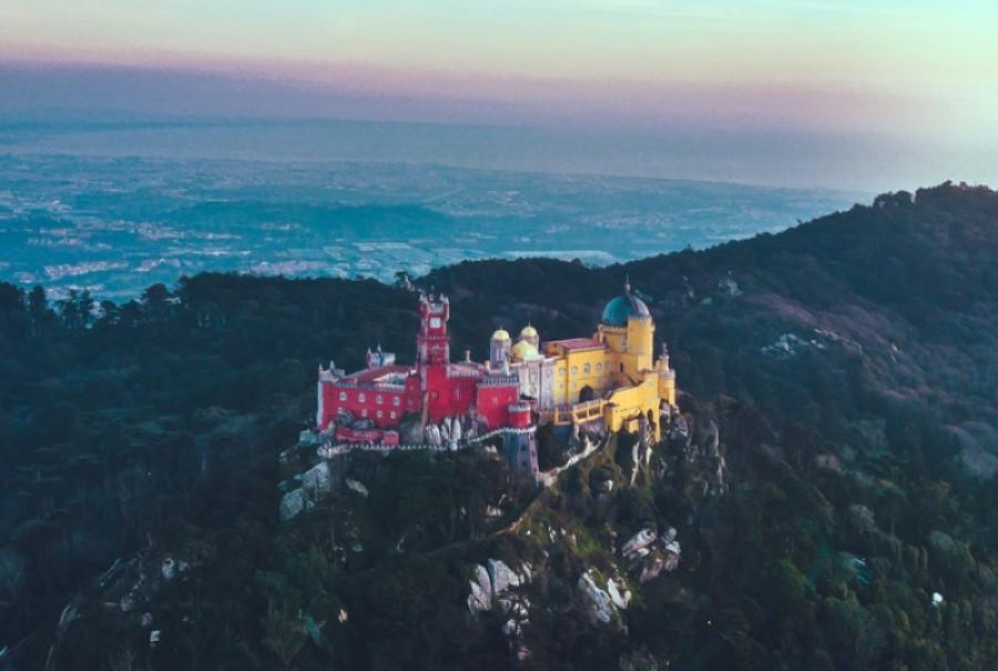 The castle in Sintra